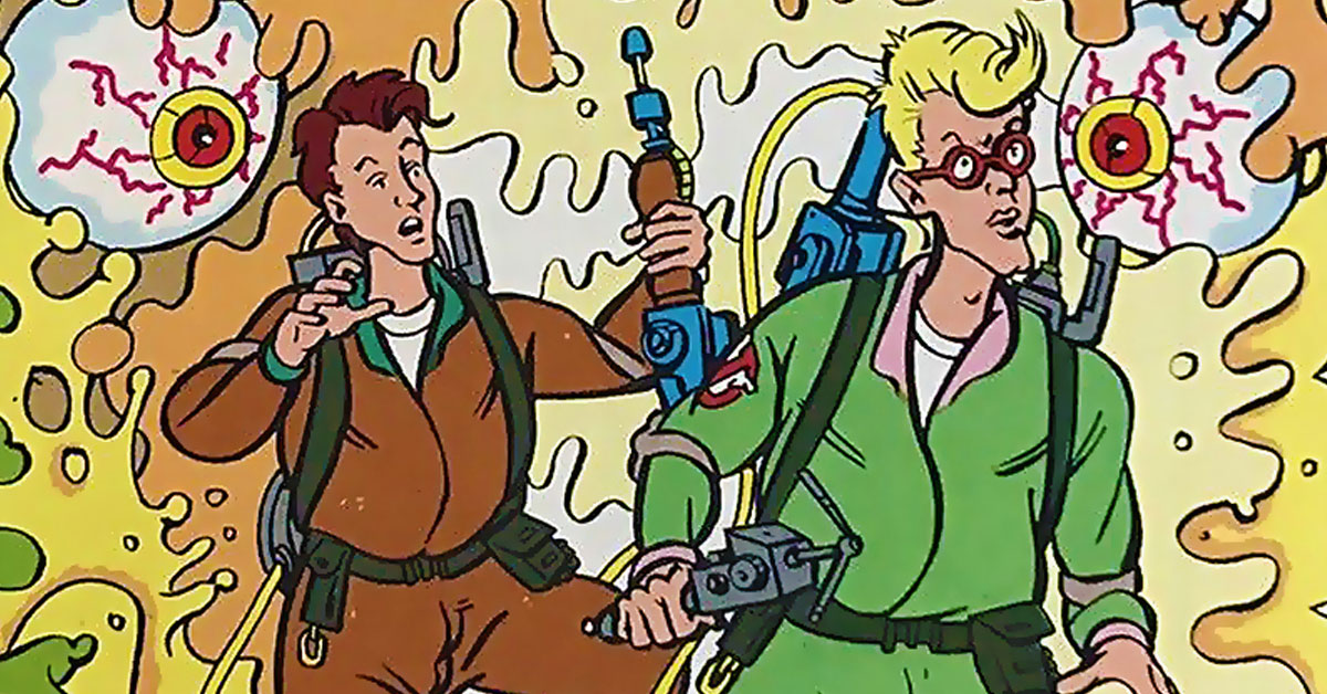 Phil Elliott's Real Ghostbusters art